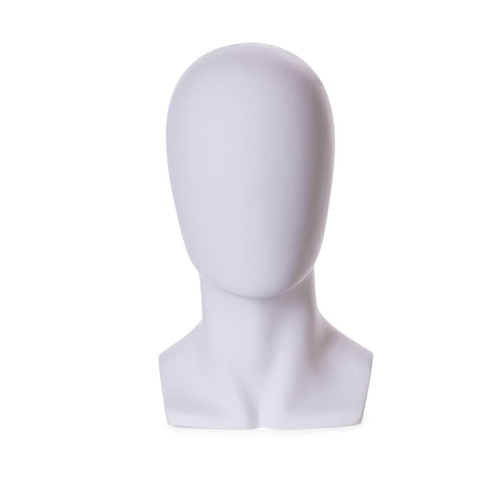 Tête homme abstraite frp blanc (photo)