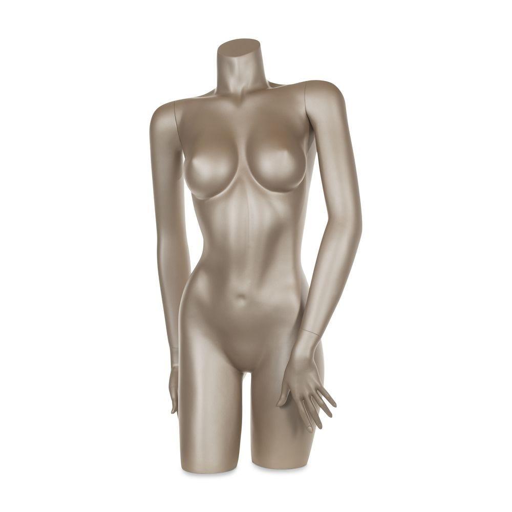 Buste femme lingerie, bonnet c,  frp,  chair métalisé mat