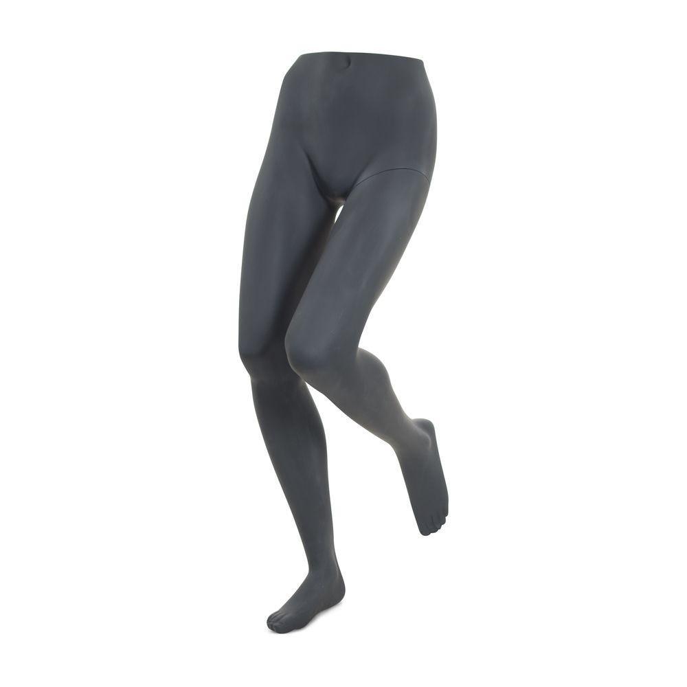 Présentoir pour pantalon femme, frp couleur gris graphite, incl. Socle et tiges