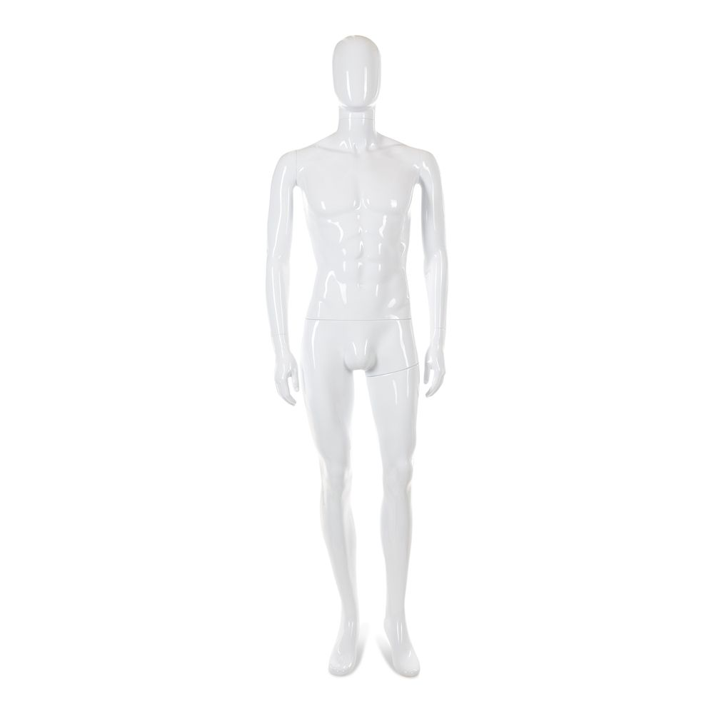 Mannequin homme tête abstraite cosmo mod.a (photo)