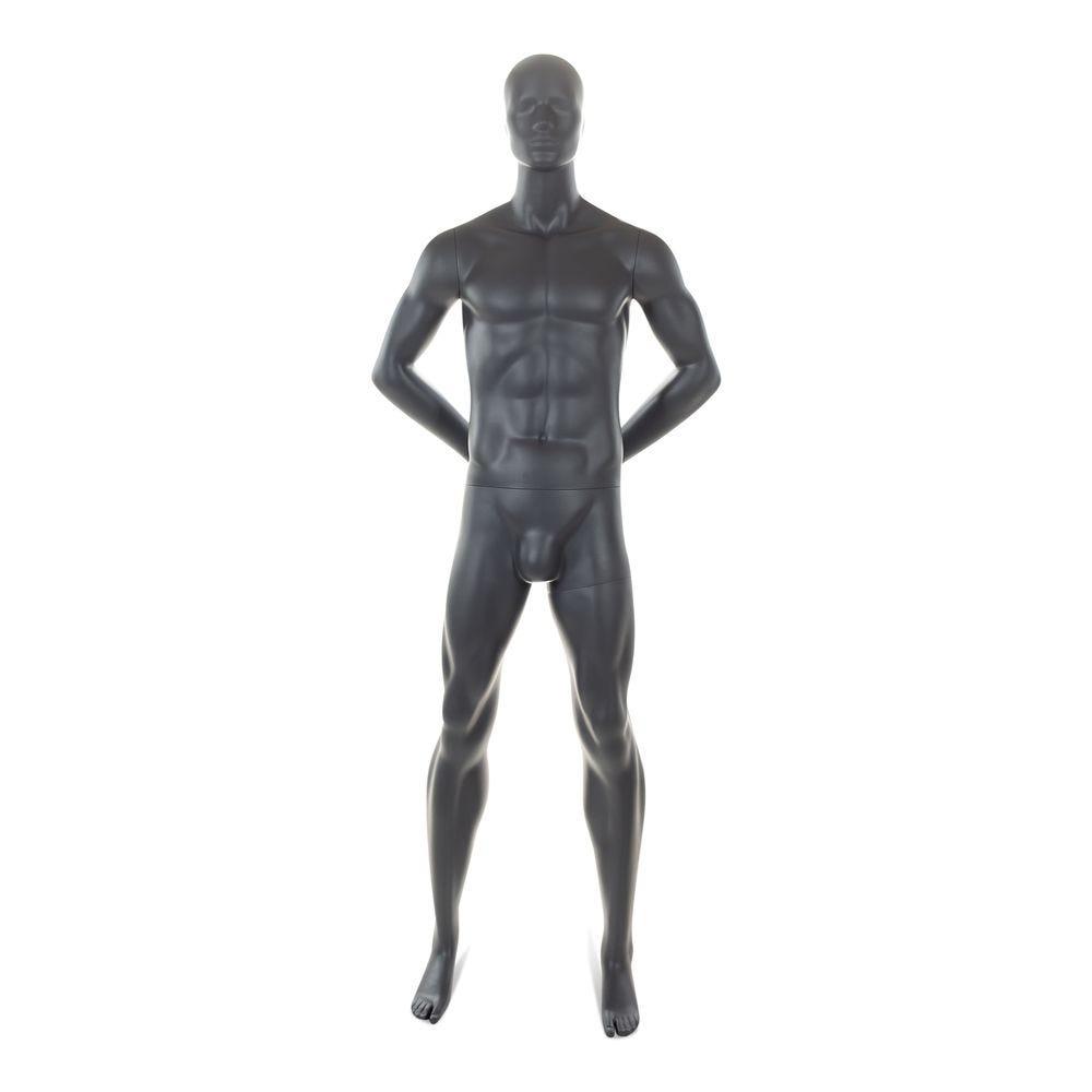 Mannequin homme tête abstraite top sports (photo)