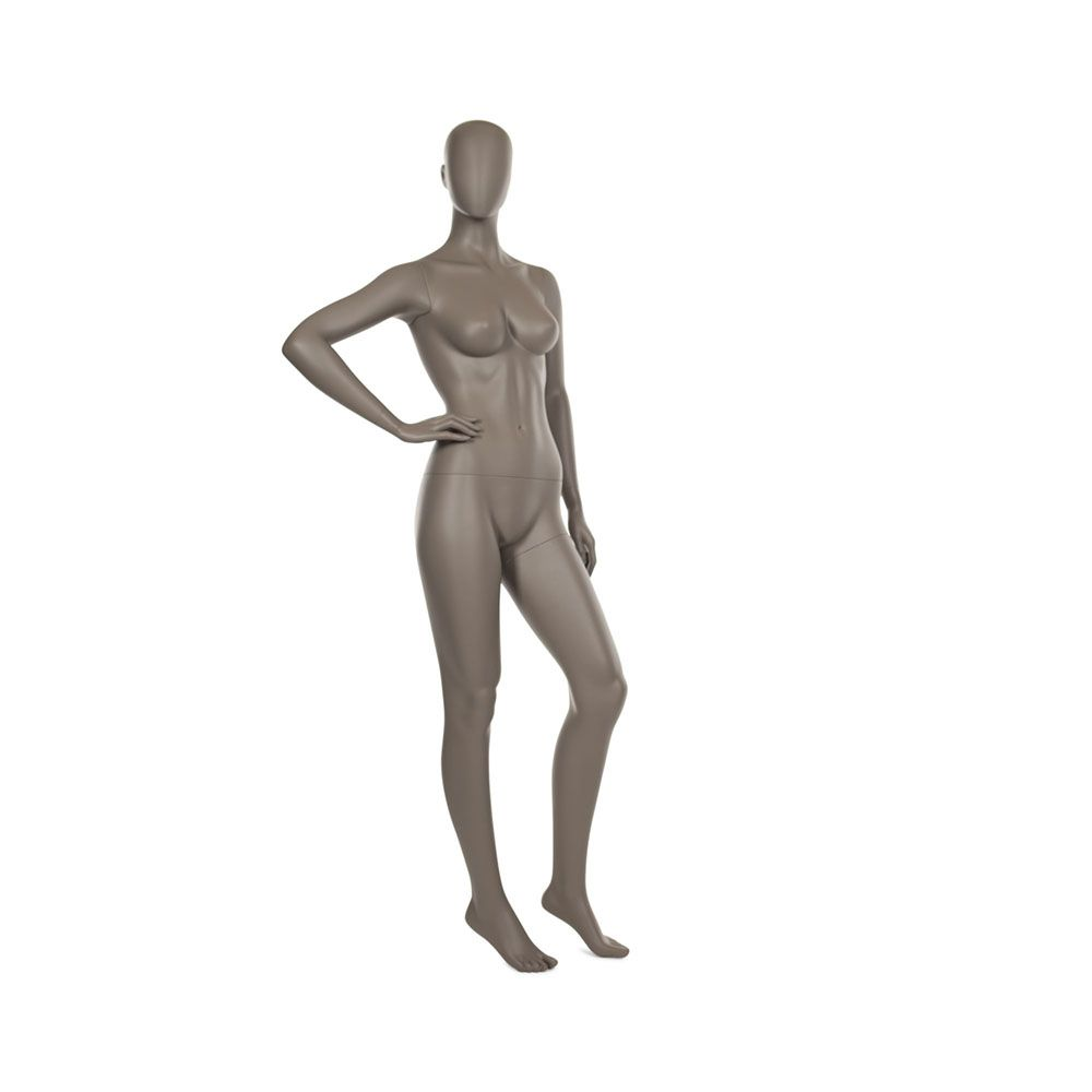 Mannequin femme qualité supérieure coll. Strong coloris taupe clair (photo)