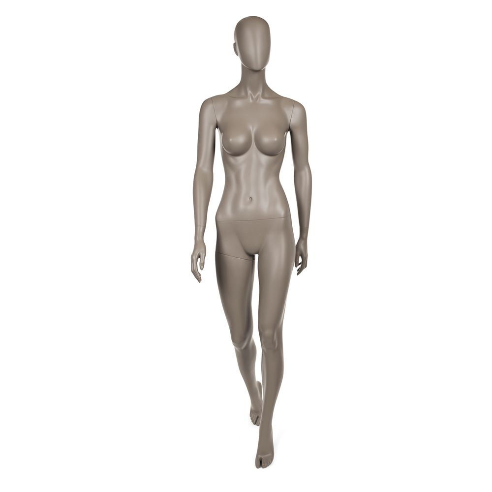 Mannequin femme qualité sup. Collection strong coloris taupe clair (photo)