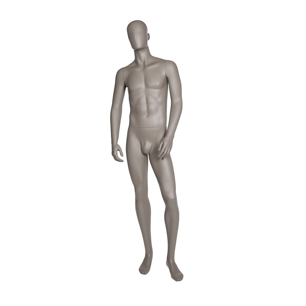 Mannequin homme qualité supérieure collection strong couleur taupe clair (photo)