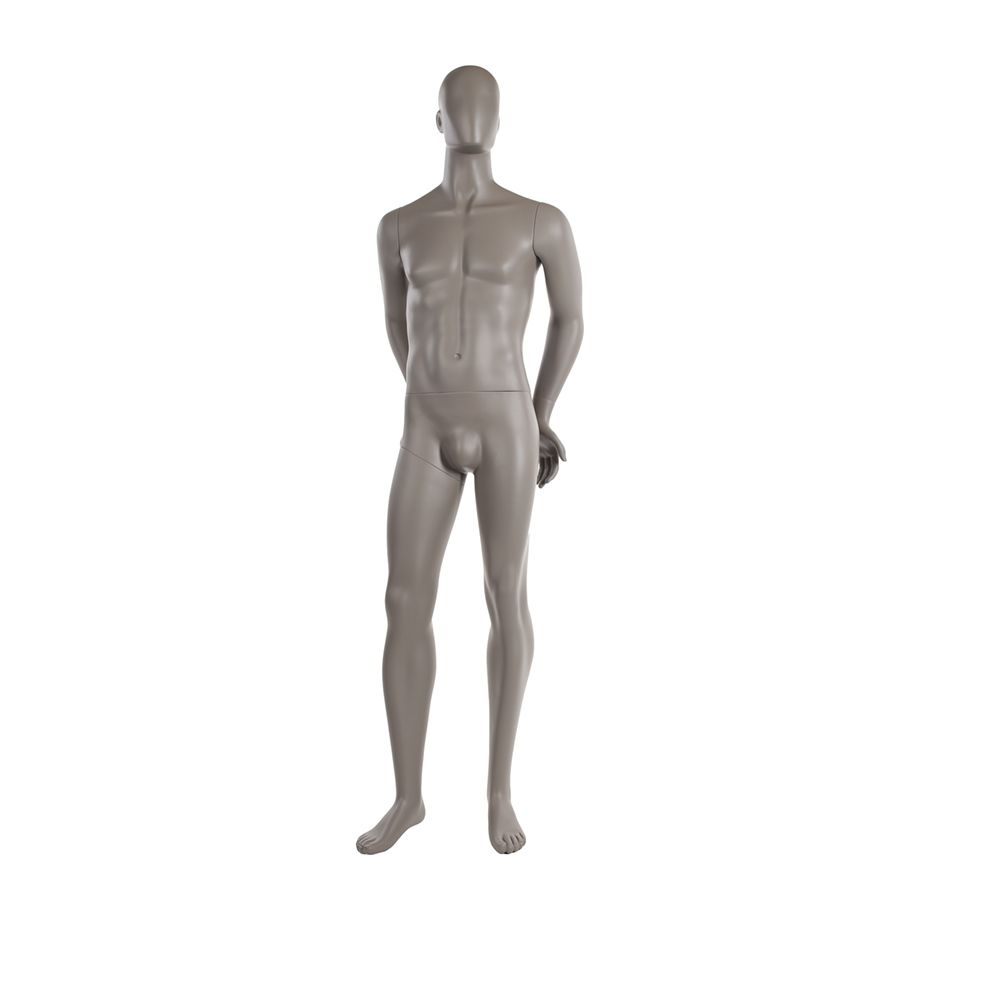 Mannequin homme qualité supérieure collection strong finition taupe clair (photo)