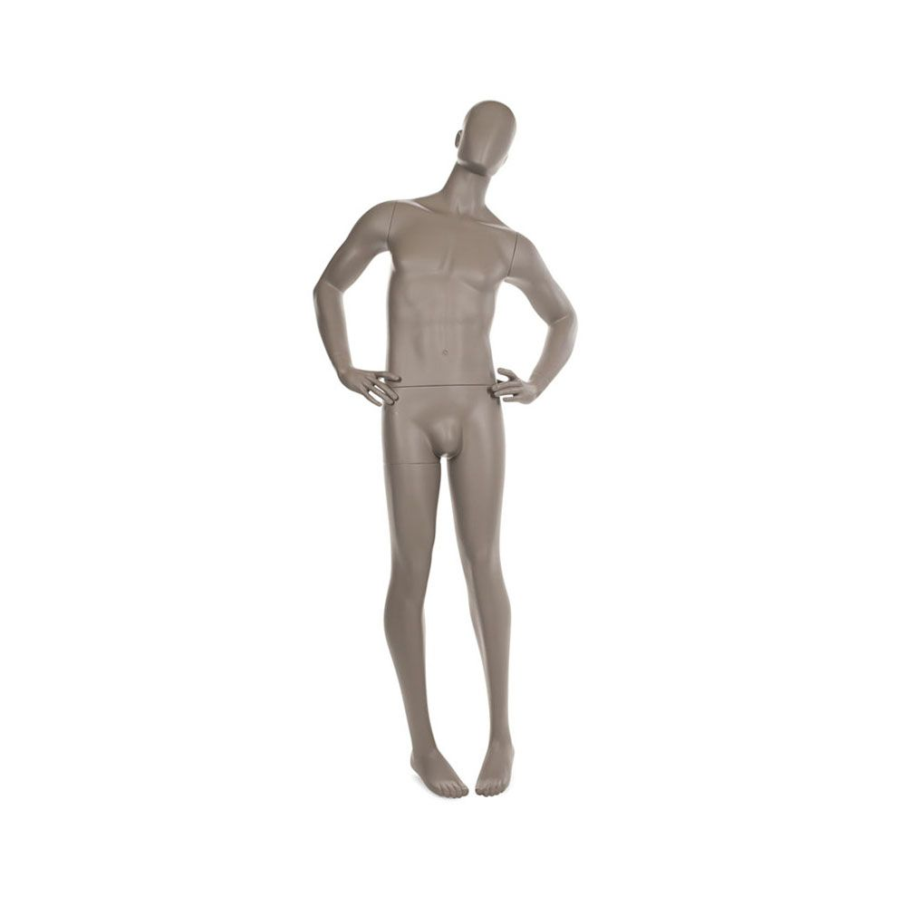 Mannequin homme qualité sup. Collection strong taupe clair (photo)