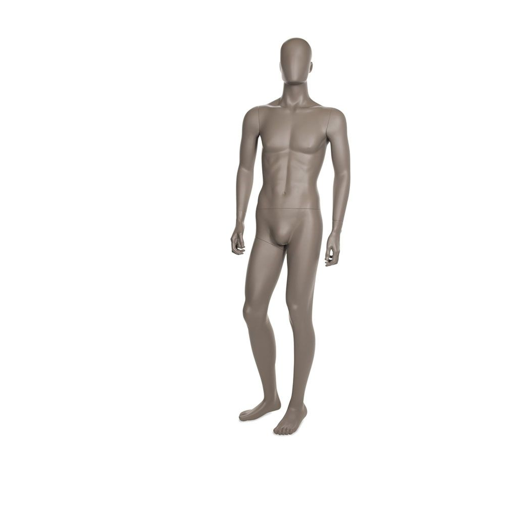 Mannequin homme qualité supérieure coll. Strong couleur taupe clair (photo)