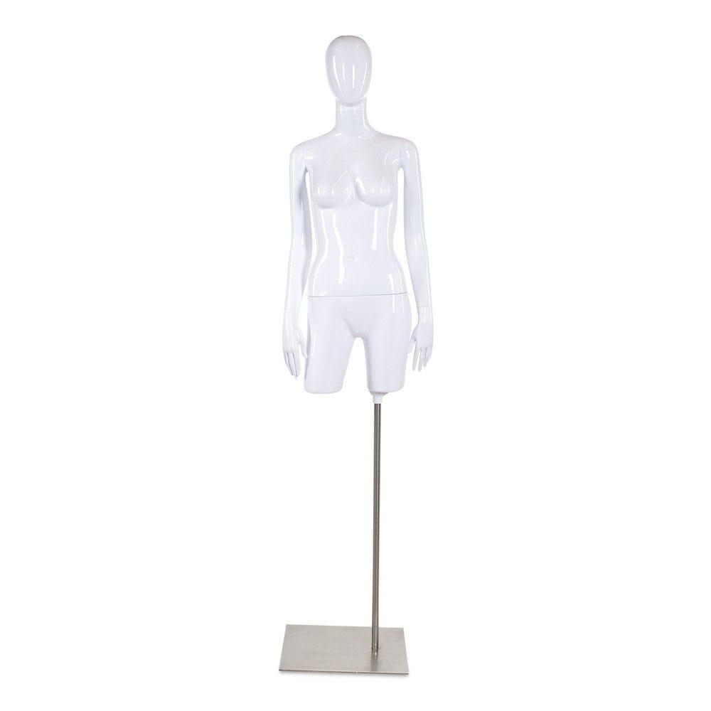 Torso femme 3/4t ABS blanc laque socle non inclus - Modèle 52