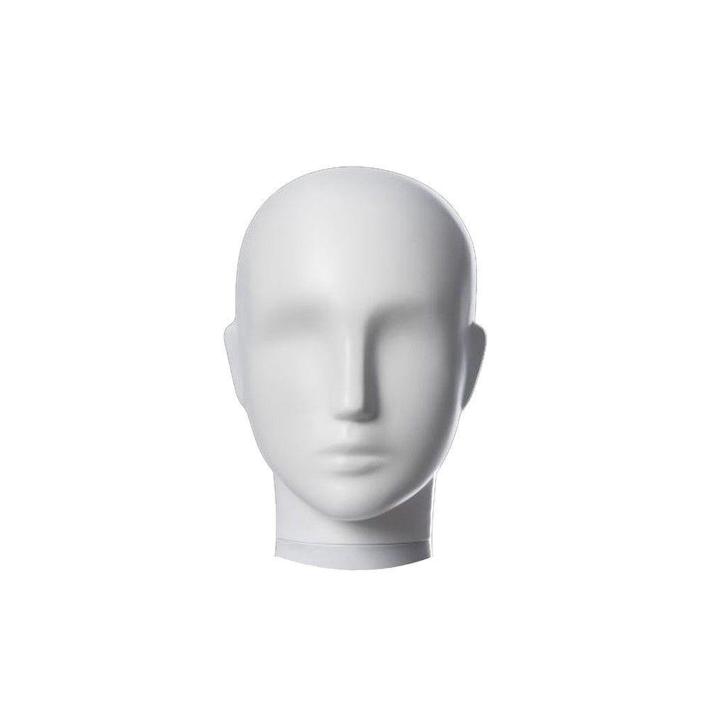 Tête femme pour collection COSMO blanc mat - Modèle 207