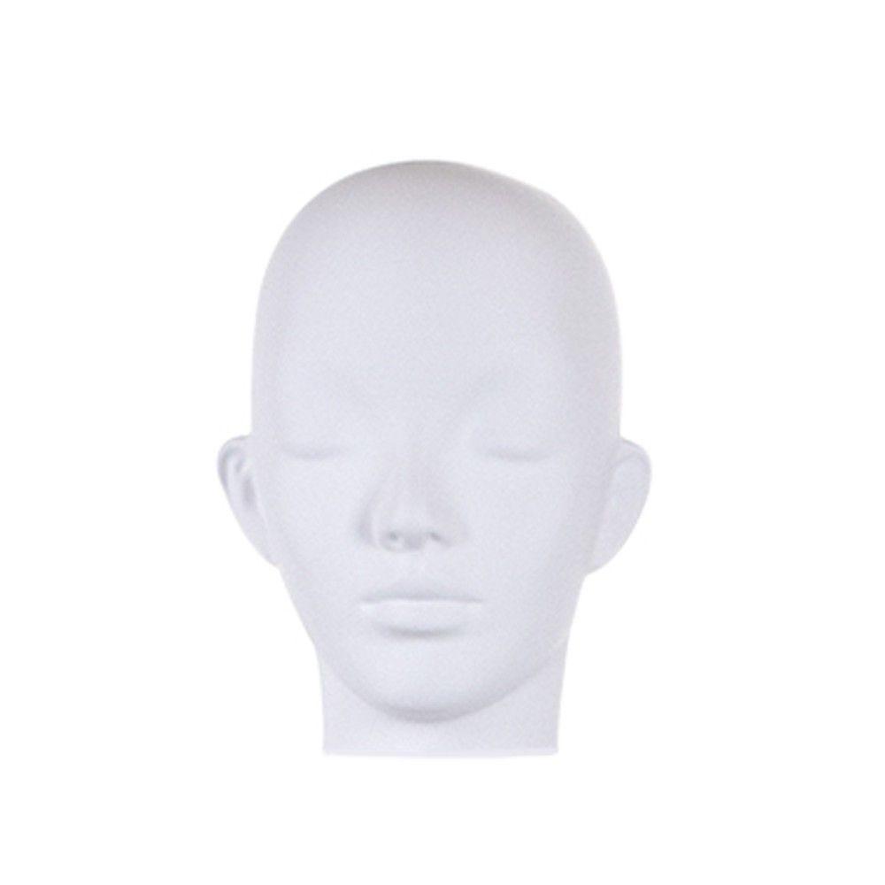 Tête femme pour collection COSMO blanc mat - Modèle 209