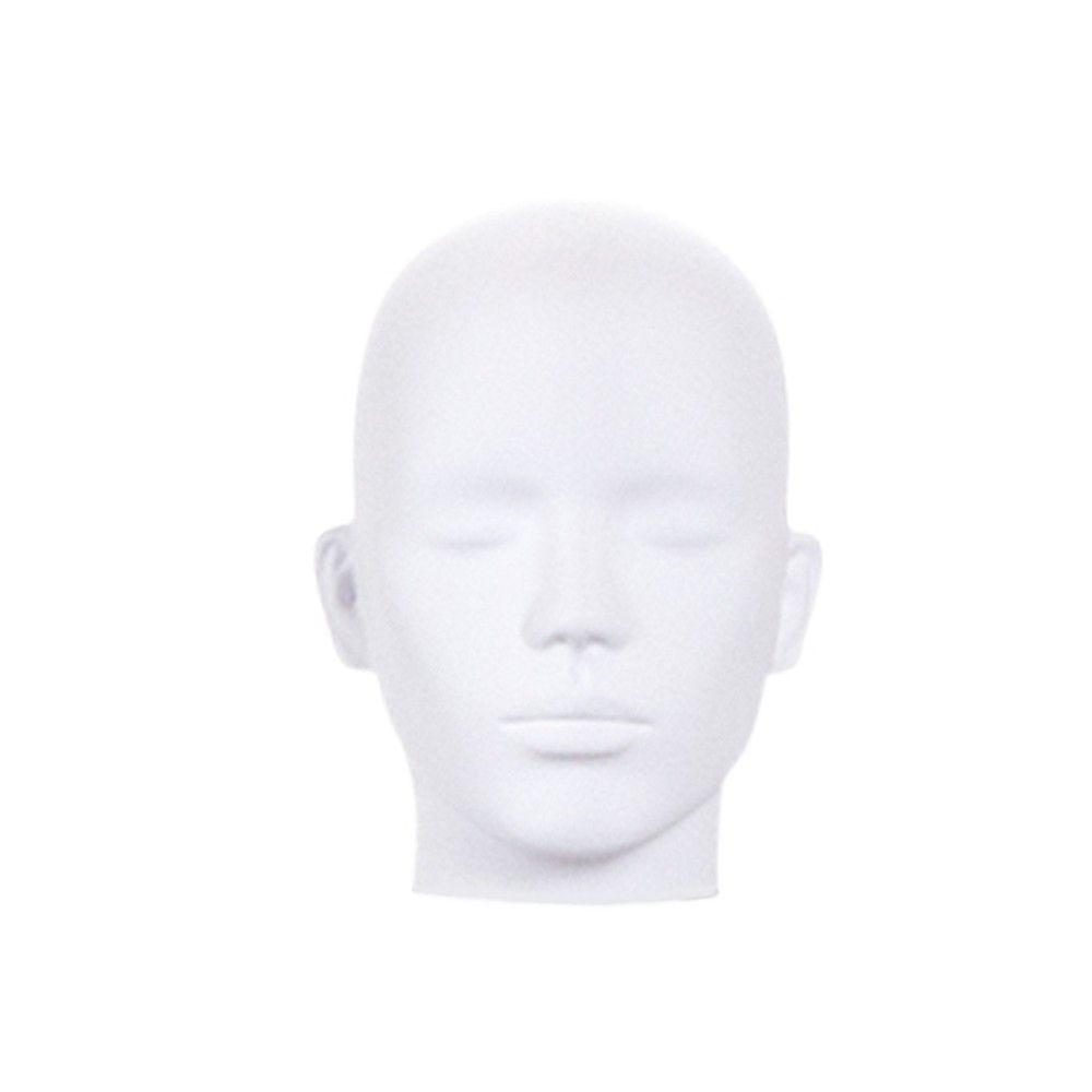 Tête homme pour collection COSMO ABS blanc - Modèle 210