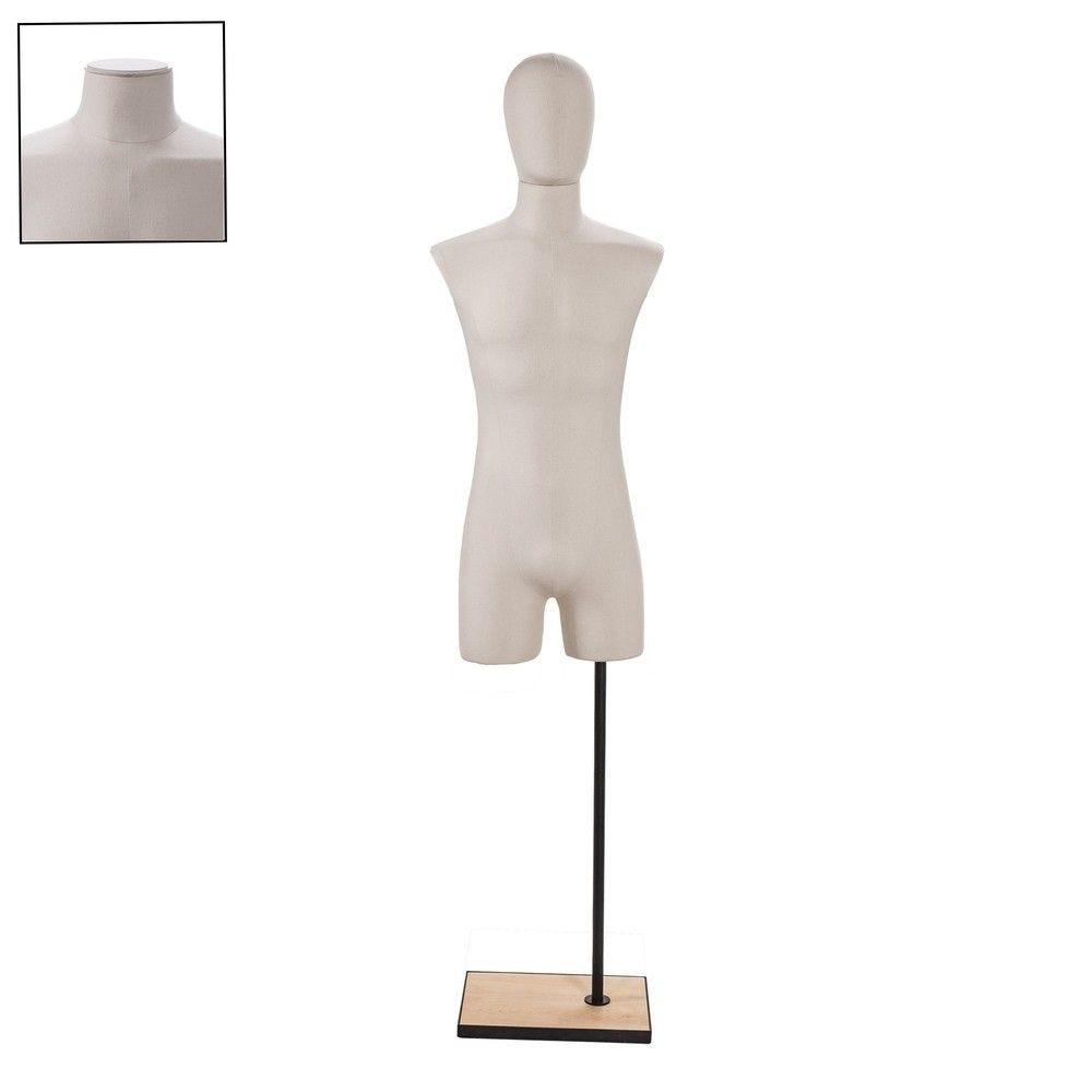 Buste homme couture tissu ecru - Modèle 152