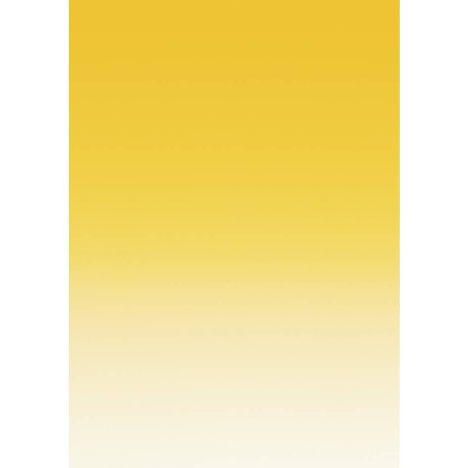 Papier de communication a4 175g 50 feuilles dégradé recto jaune bouton d'or