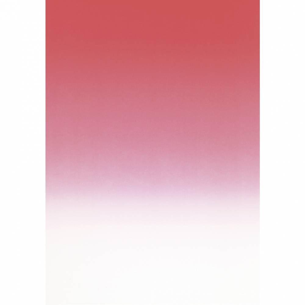 Papier de communication a4 175g 50 feuilles dégradé recto rouge écarlate