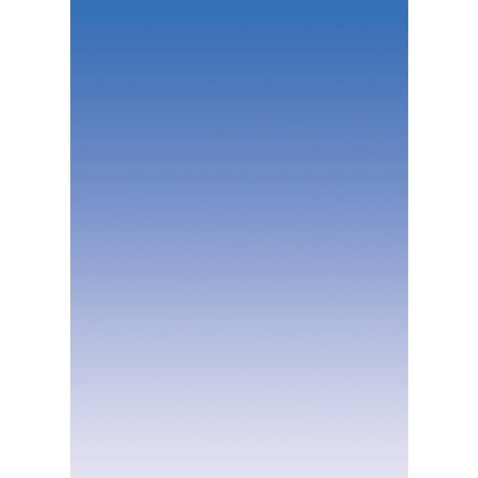 Papier de communication a4 175g 50 feuilles dégradé recto bleu outremer