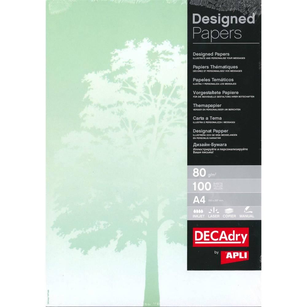 Papier de communication a4 80g 100 feuilles illustrée arbre
