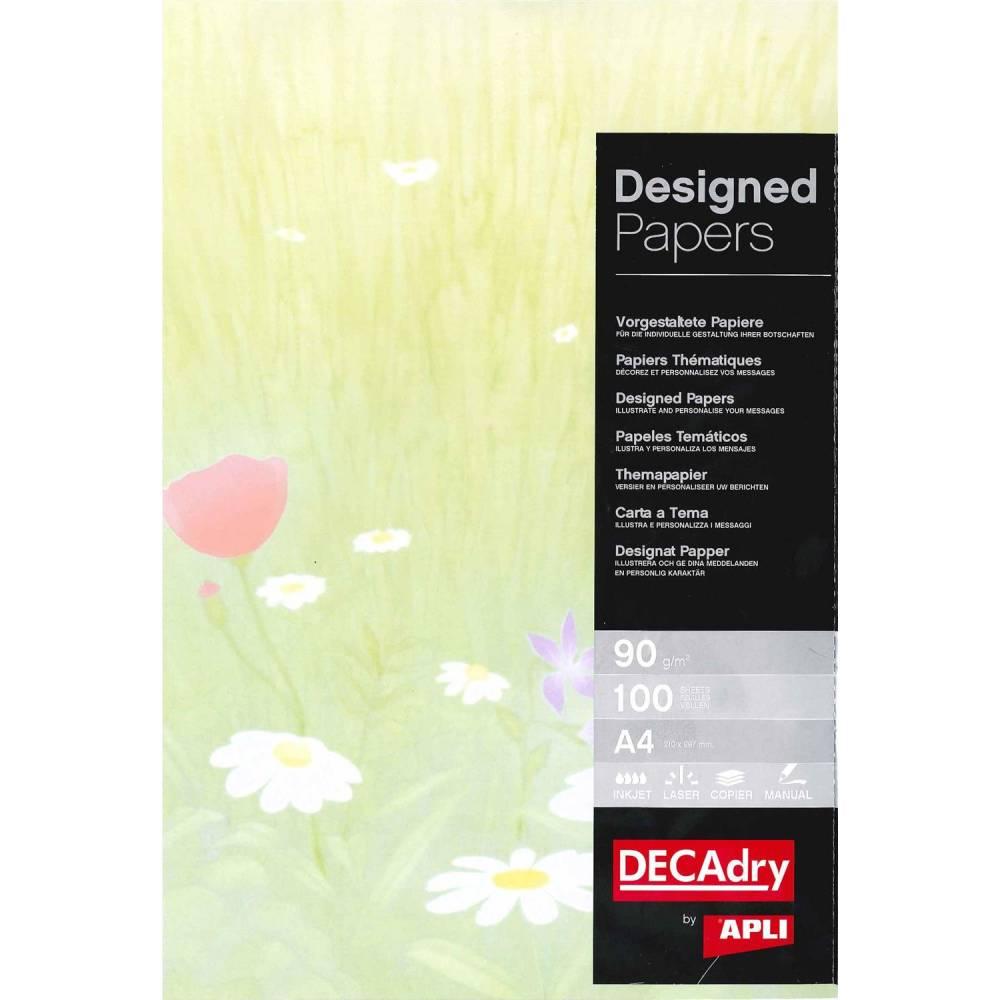 Papier de communication a4 80g 100 feuilles illustrée printemps