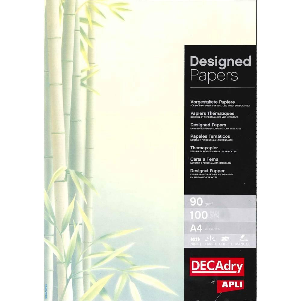 Papier de communication a4 80g 100 feuilles illustrée bambou