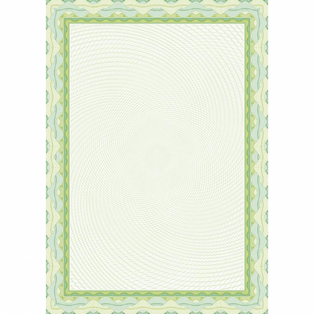Papier de communication a4 115g 70 feuilles diplômes spiral vert