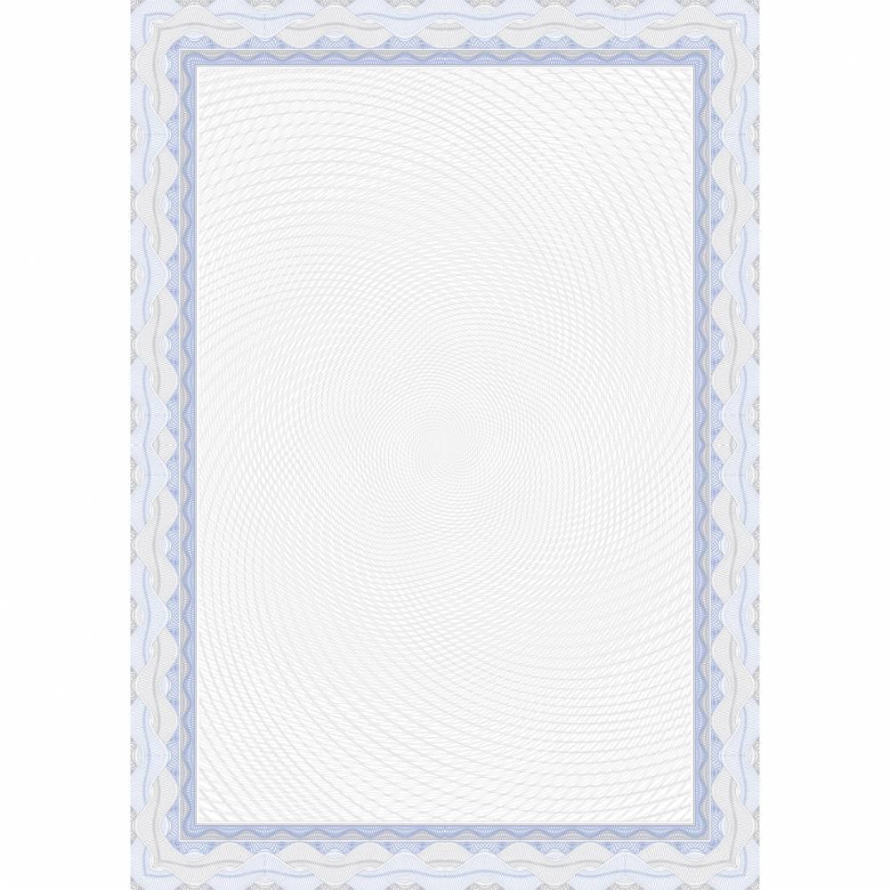 Papier de communication a4 115g 70 feuilles diplômes spiral bleu