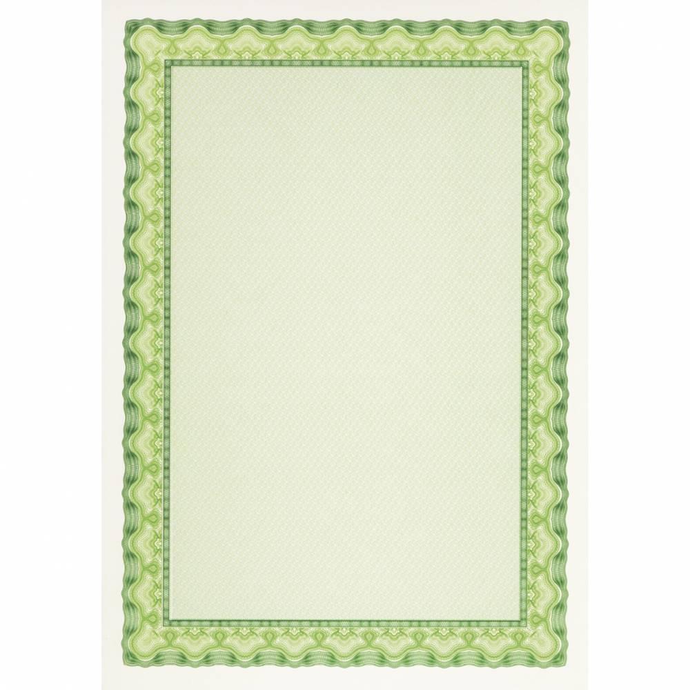 Papier de communication a4 115g 70 feuilles diplômes vert émeraude