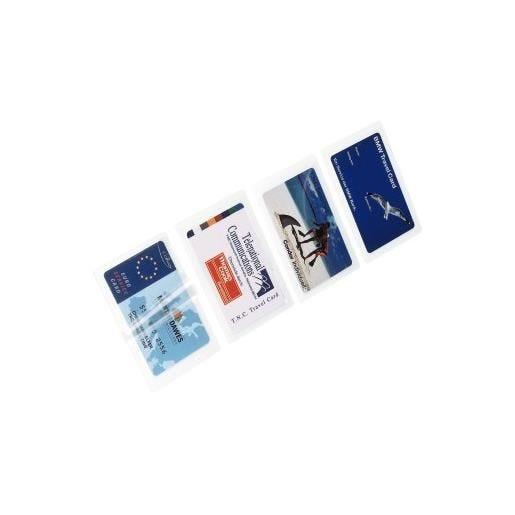 Film pour plastifieuse à chaud carte de visite 125µ - par 100 (photo)