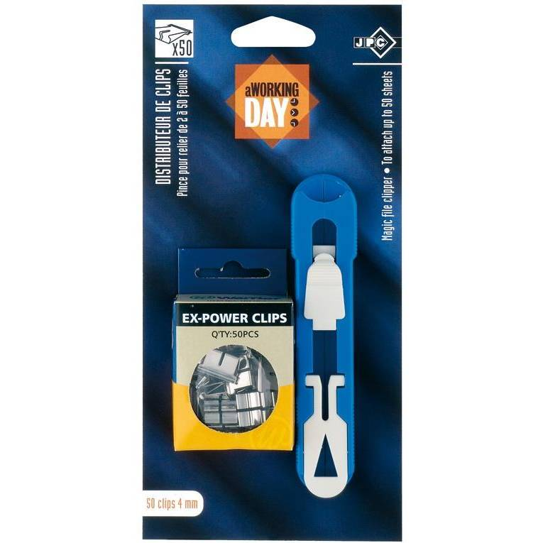 Pince magic clip + 1 boite clips