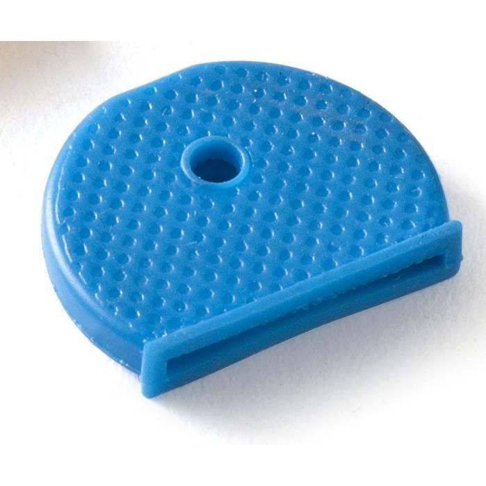 Cache clés coloris bleu - par 20 (photo)
