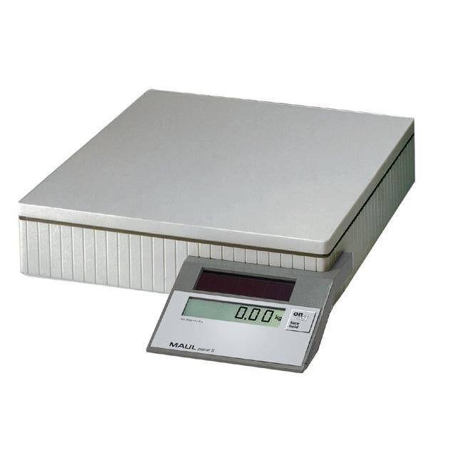 Pèse-paquet solaire parcel s jusqu'à 20 kg gris (photo)