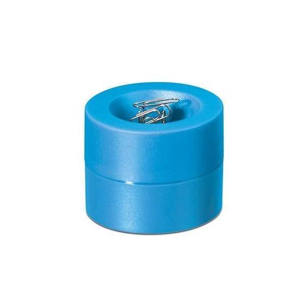 Distributeur de trombones de coloris bleu clair