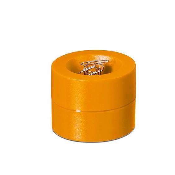 Distributeur de trombones de coloris orange