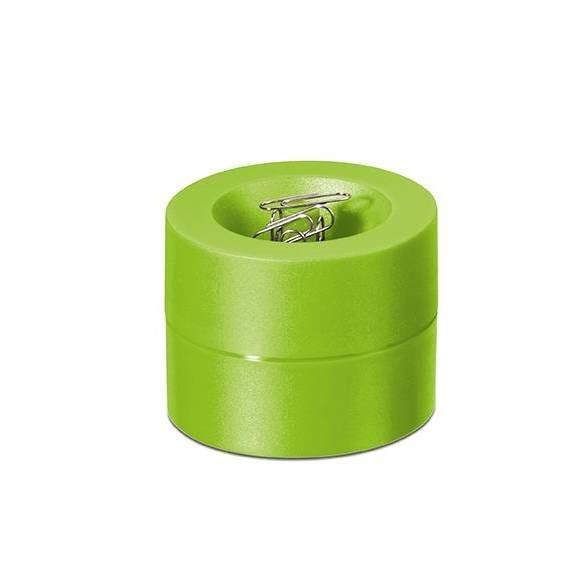 Distributeur de trombones de coloris vert clair
