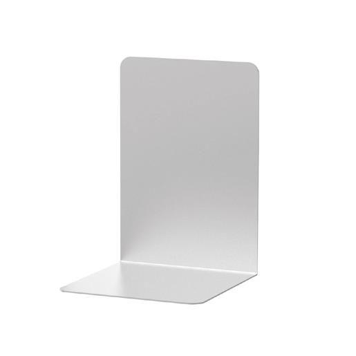 Serre-livres en aluminium 12 x 12 x 17 cm coloris - par 2 (photo)