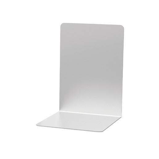 Serre-livres en aluminium 16 x 15 x 21 cm coloris - par 2 (photo)
