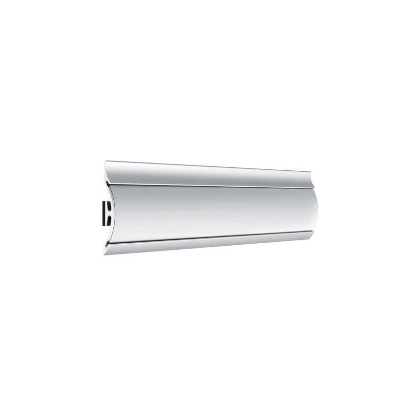 Rail d'information aluminium 210 mm aluminium