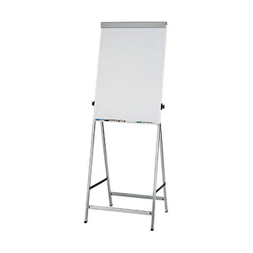 Chevalet de conférence office 4 pieds argent (photo)