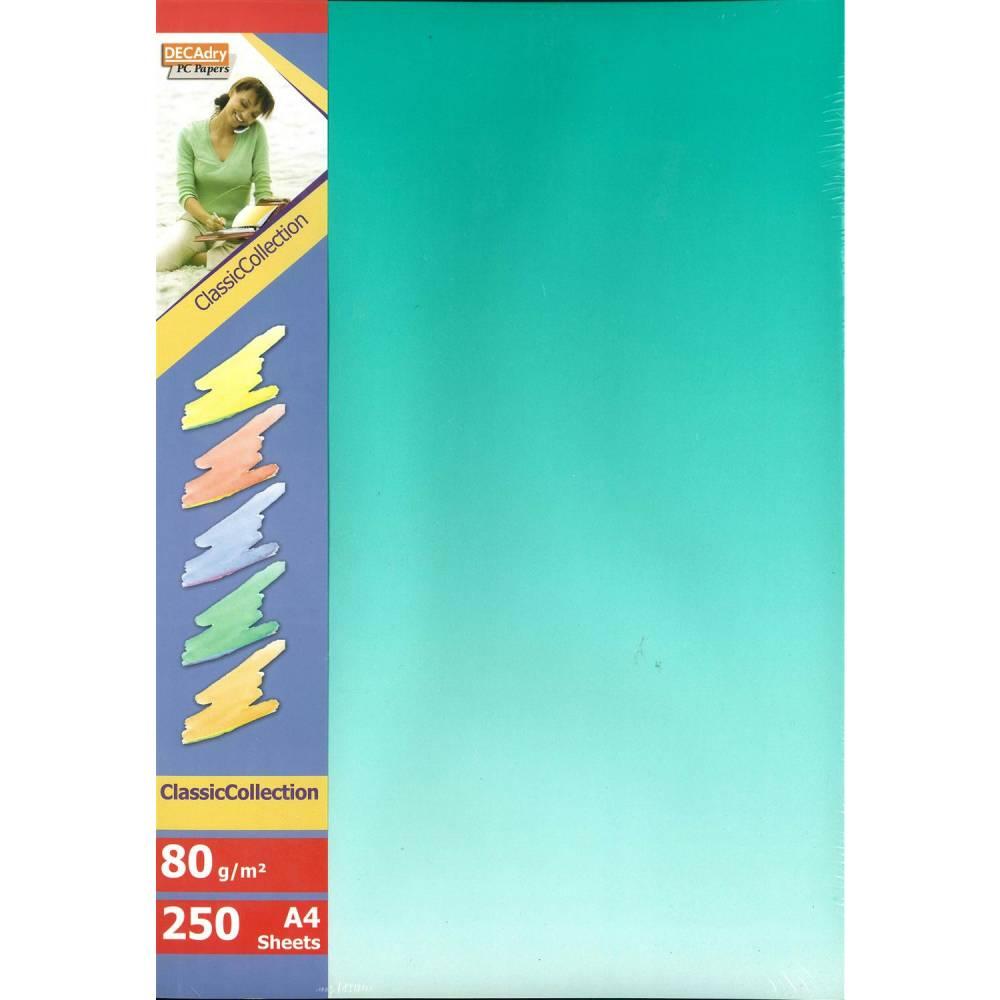 Papier de communication a4 80g 250 feuilles dégradé recto verso bleu