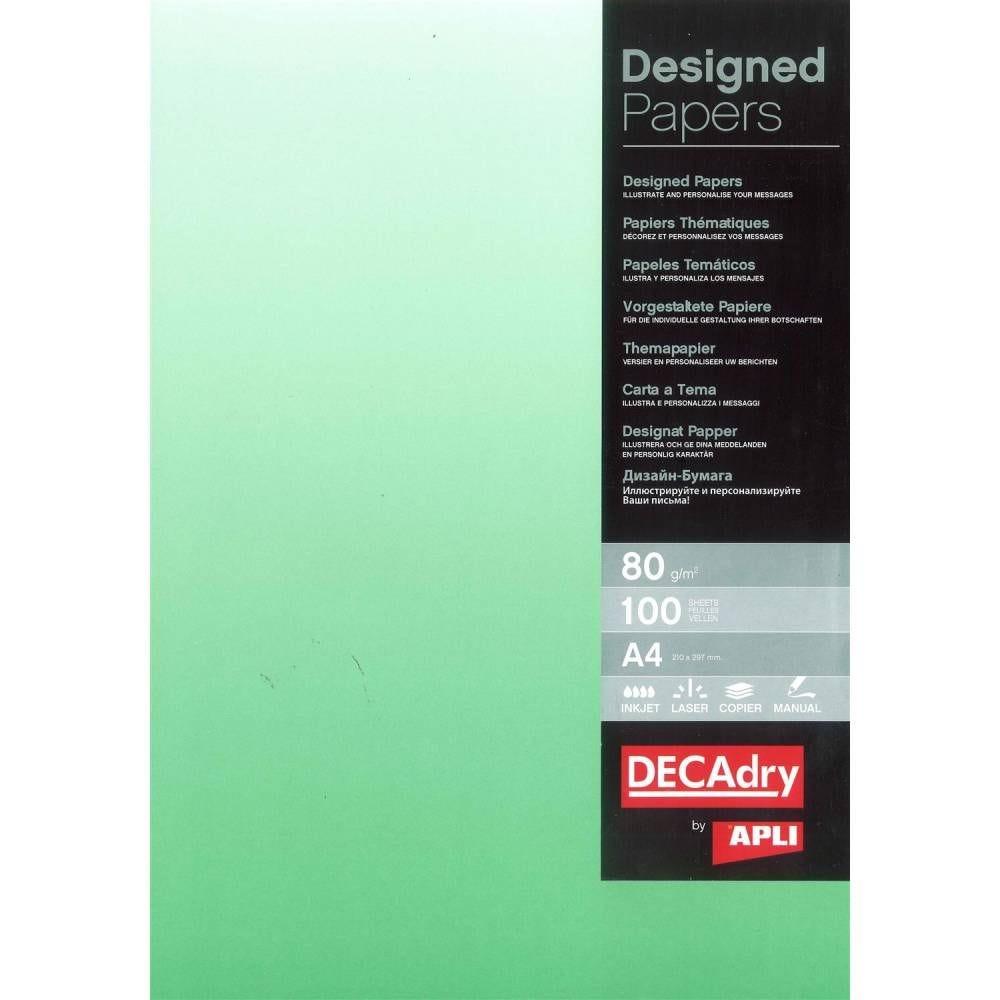 Papier de communication a4 80g 100 feuilles dégradé recto vert