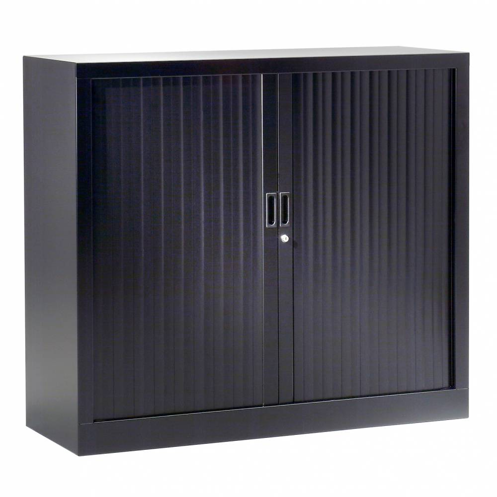 Réhausse armoire h44xl 80xp43 cm noir rideaux noir