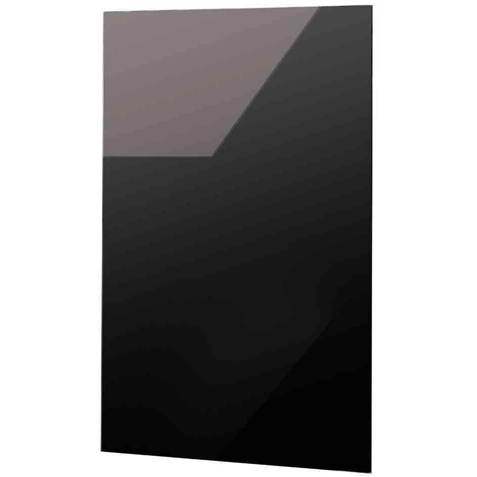 Tableau aimanté en verre belmuro 45 x 80 cm noir (photo)