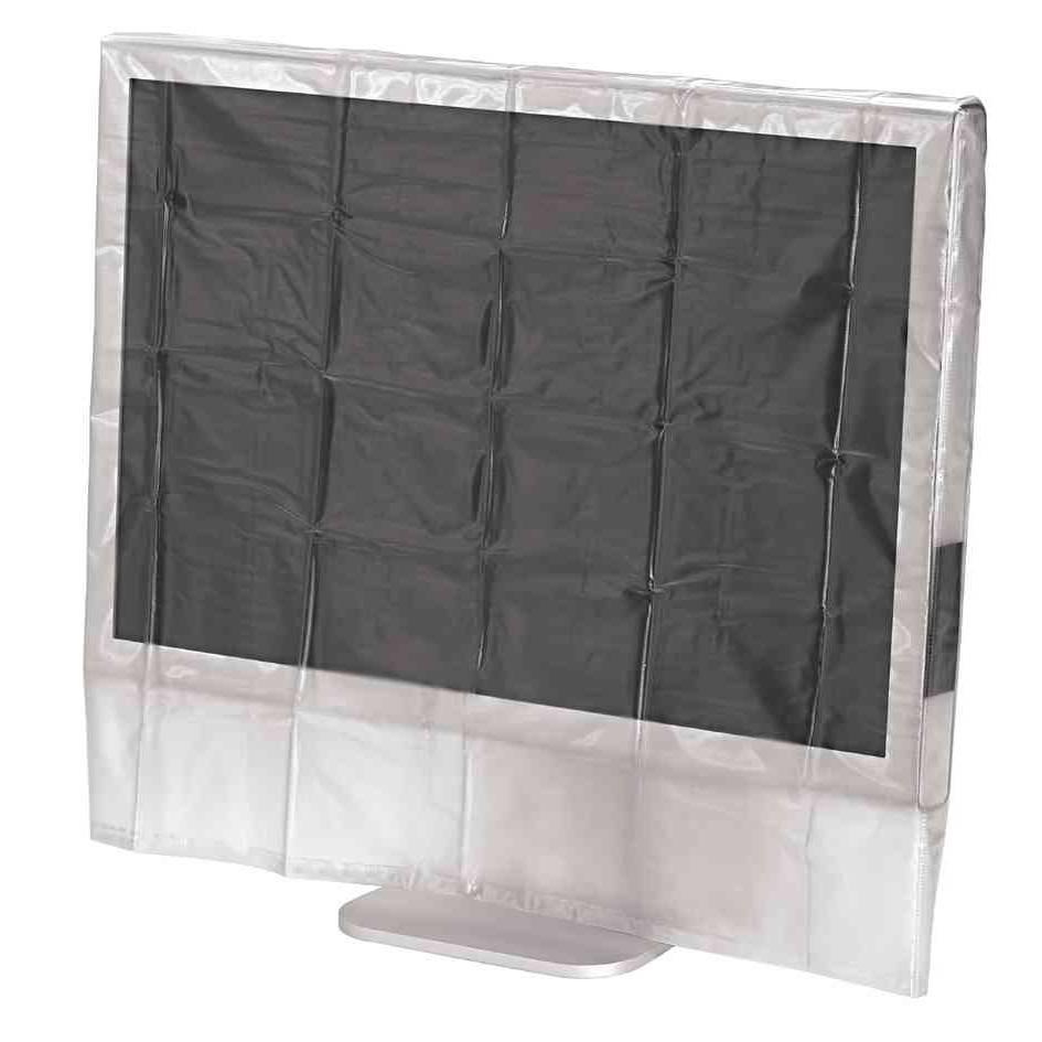 Housse de protection pour écran transparente pour écran 24 à 26 pouces (photo)
