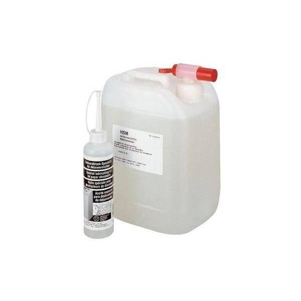 Huile spéciale pour bloc de coupe de destructeurs - bidon de 5 litres