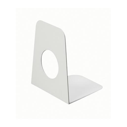 Serre-livres en plastique 9 x 10,5 x 12 cm coloris blanc 1 pièce