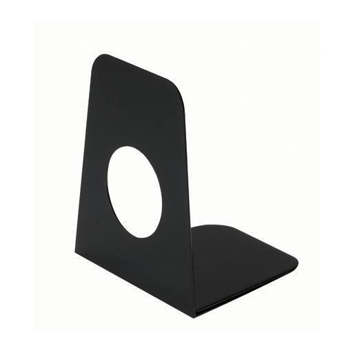 Serre-livres en plastique 9 x 10,5 x 12 cm coloris noir 1 pièce