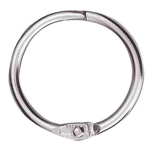 Anneaux brisés métal diamètre 25 mm - sachet de 10