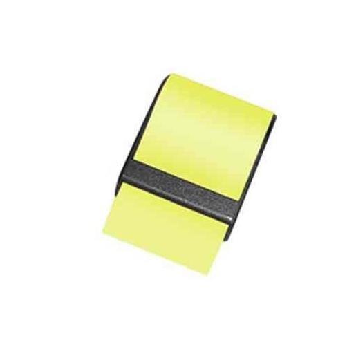 Recharge pour dévidoir de notes 10 m x 60 mm jaune