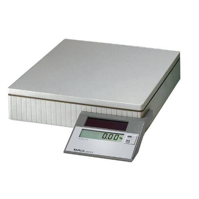 Pèse-paquets solaire parcel s 50 kg gris (photo)