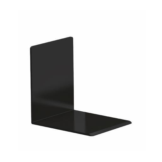 Serre-livres en plastique 10 x 8 x 10 cm coloris noir - par 2