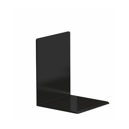 Serre-livres noir 10 x 10 x 13 cm coloris noir - par 2