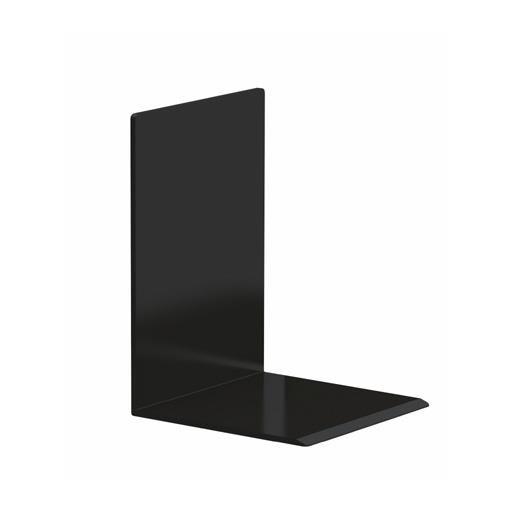 Serre-livres noir 12 x 12 x 17 cm coloris noir - par 2